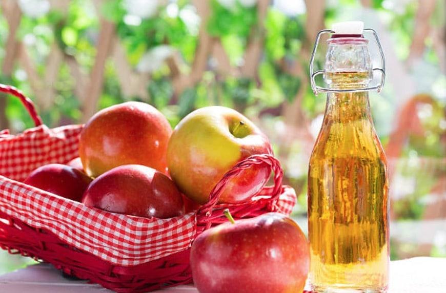 vinaigre de cidre pommes