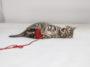 chaton joue fil pelote laine